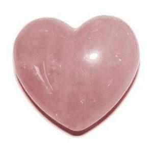 Cuarzo rosa corazon