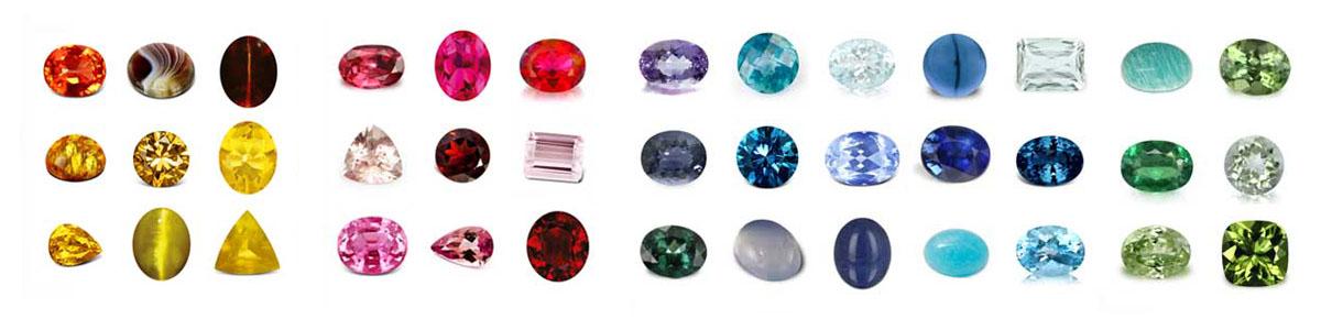 colores de las piedras preciosas