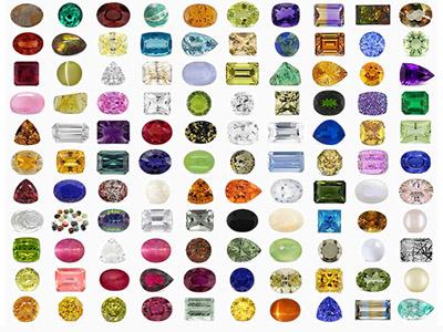piedras preciosas por color
