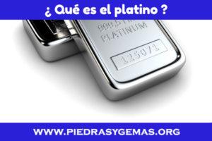que es el platino